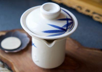 Slowpresso ręcznie malowane – liście bambusa