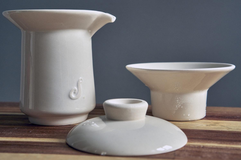 Ceramiczny zestaw do kawy
